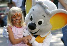 Europa Park Rust in Germania, parco di divertimento per famiglie con Bambini