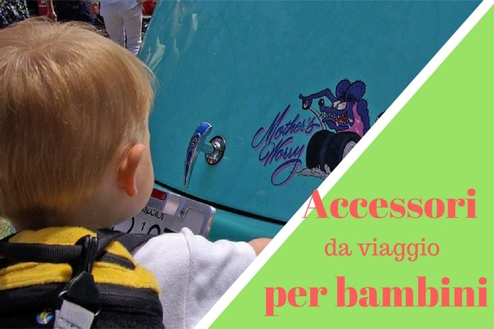 accessori di viaggio per bambini