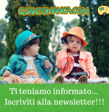 iscrizione newsletter quantomanca.com