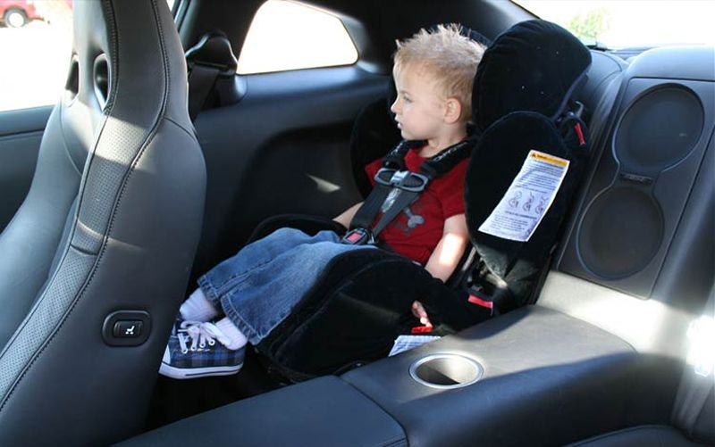 Narrow Child Car Booster Seat