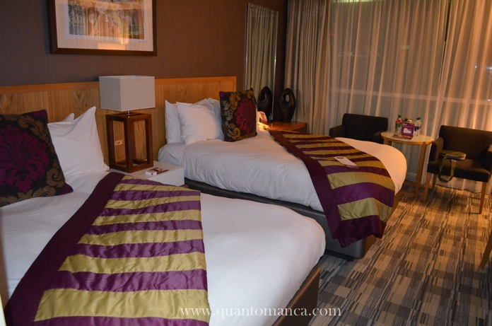crowne plaza londra camera