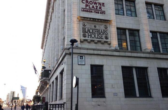 Recensione dell 39 hotel crowne plaza the city di londra for Hotel per londra