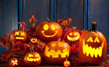 halloween per bambini zucche