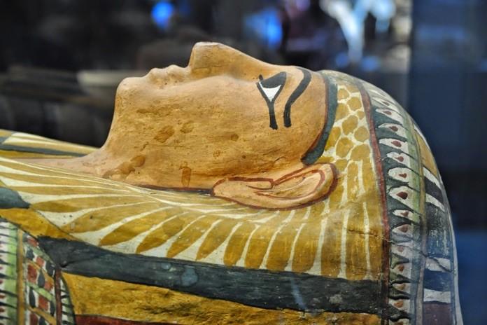 mumia nel museo egizio di torino