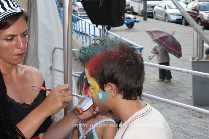 toronto pittura viso
