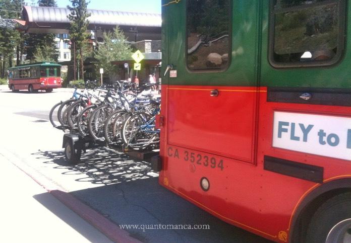 mammoth lake tram