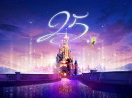 25 anni del parco disneyland paris