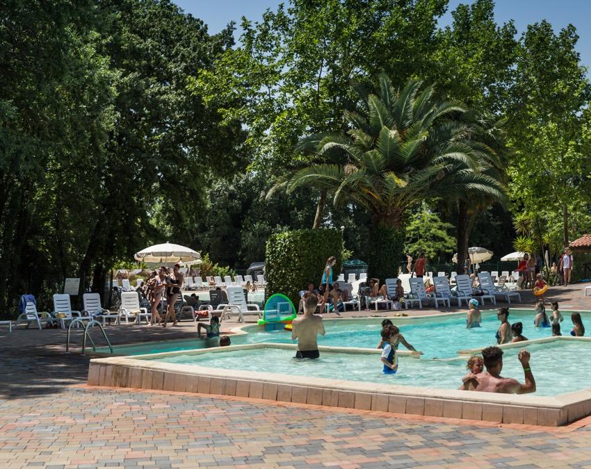 I Pini Family Park Piscina Quadrata