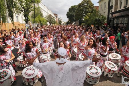 la parata del Carnevale di Notting Hill a Londra
