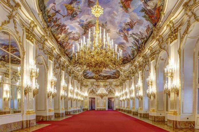 Vienna castello schoenbrunn