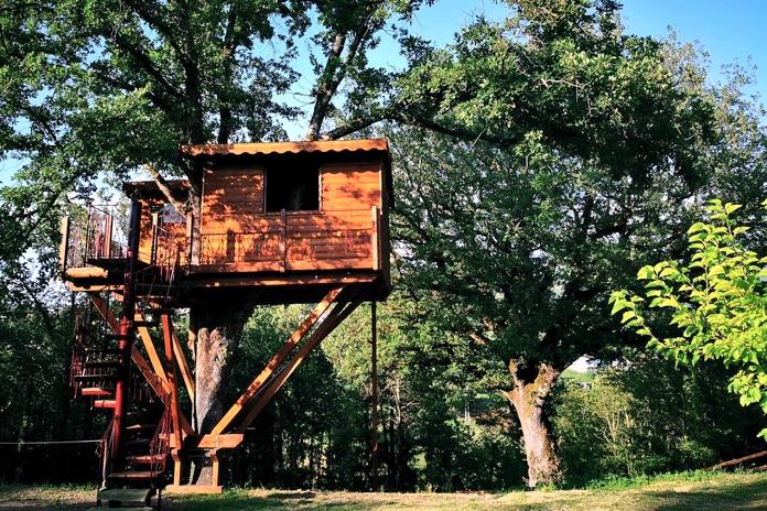 casa sull' albero calabria