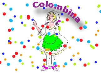 Maschere italiane carnevale: colombina
