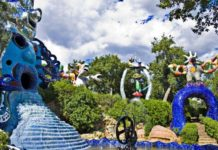 giardino dei tarocchi toscana
