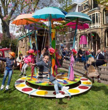 Olanda - festa della regina amsterdam