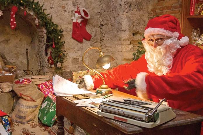 Posizione Babbo Natale.A Pergola Pu A Scoprire Il Magico Mondo Di Babbo Natale