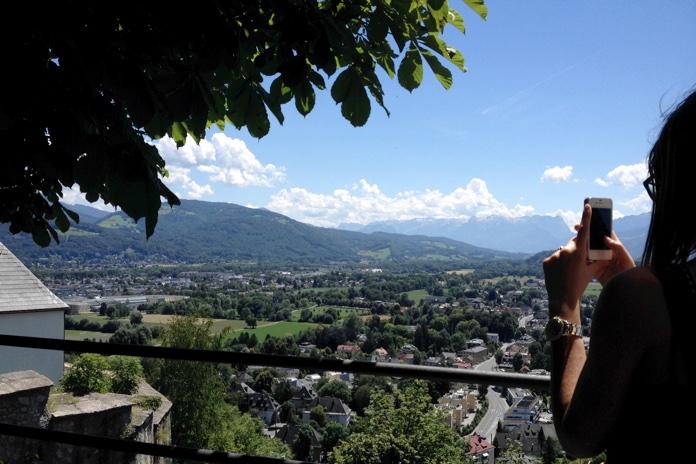salisburgo fotografata dall alto