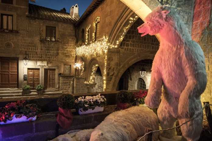 viterbo caffeina christmas village