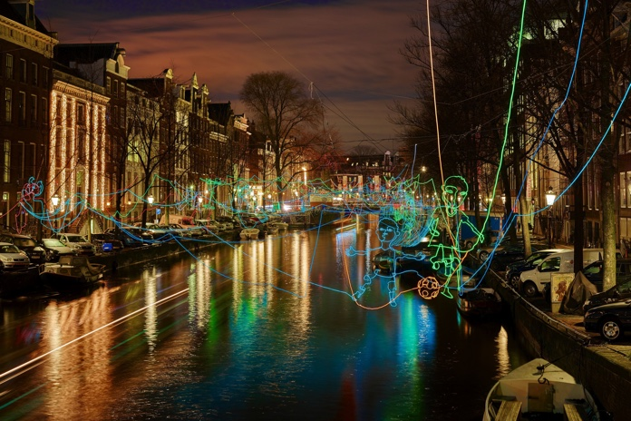amsterdam natale light festival