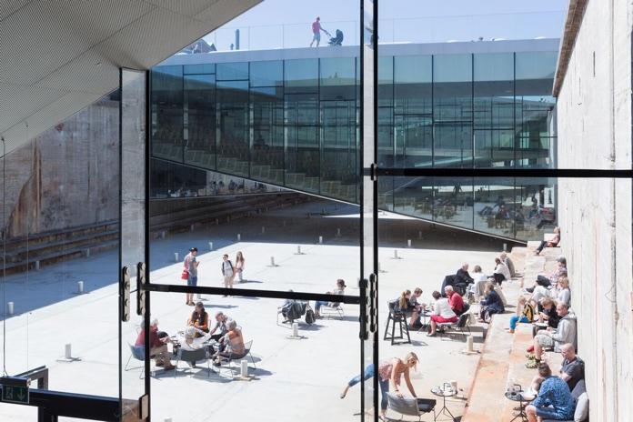 museo del mare danese spazi aperti