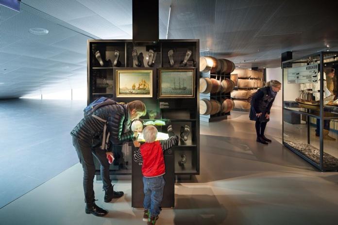 museo mare danese interno