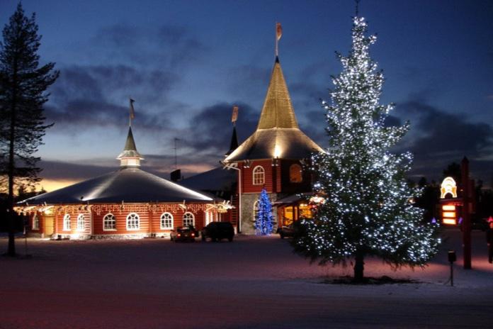 Parco Di Babbo Natale.In Finlandia A Casa Di Babbo Natale Quantomanca Com
