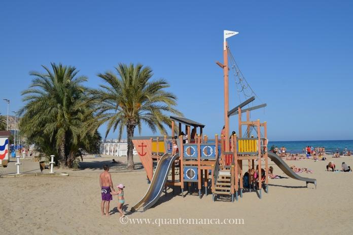 alicante giochi spiaggia