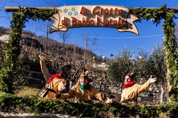 La Grotta Di Babbo Natale.In Piemonte Ad Ornavasso Visita Alla Grotta Di Babbo Natale