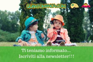 iscrizione Newsletter - Quantomanca.com
