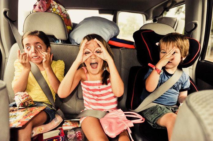 giochi da fare in auto per bambini
