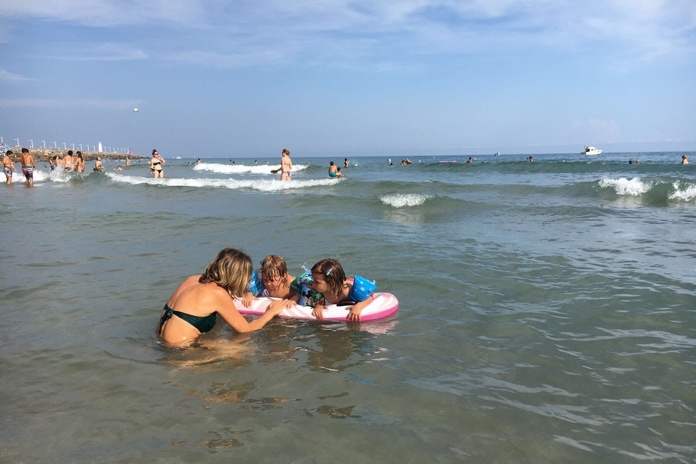 spiagge liguria per bambini