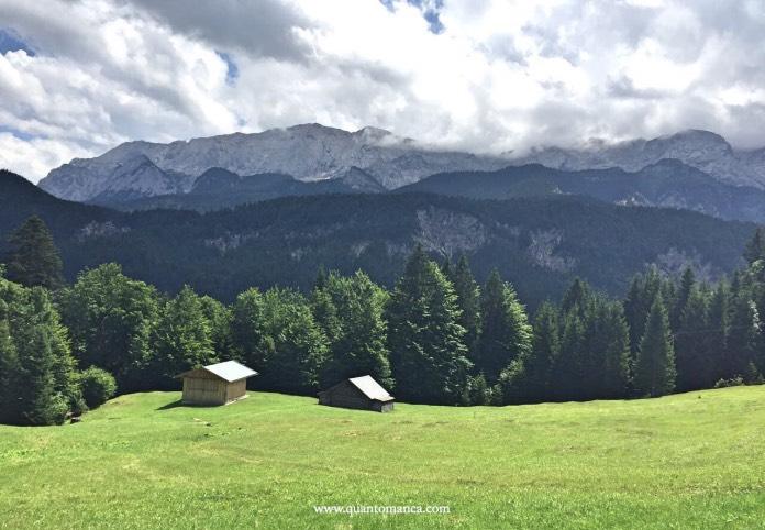 viaggiare in Baviera con bambini - le montagne