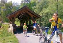 vacanza in bici sulla ciclabile Dobbiaco Linz