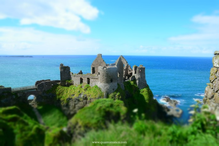 irlanda del nord Dunluce Castle