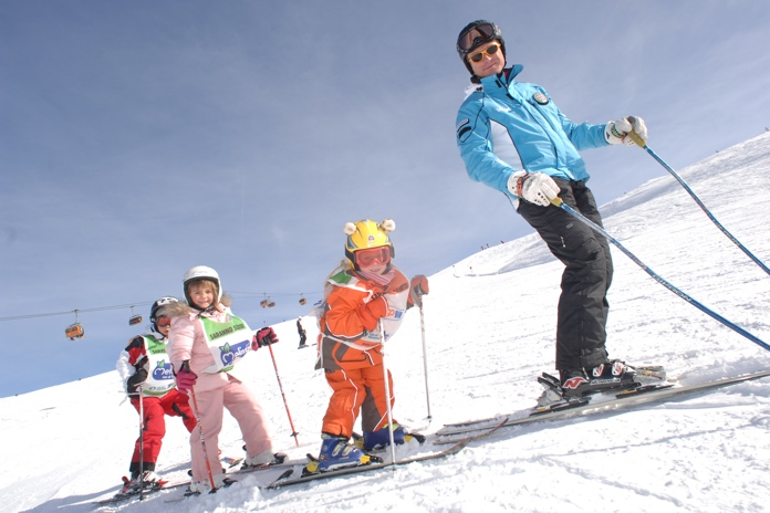 sciare in val di fiemme