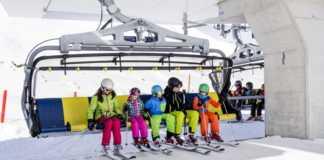sciare nel tirolo austriaco con i bambini