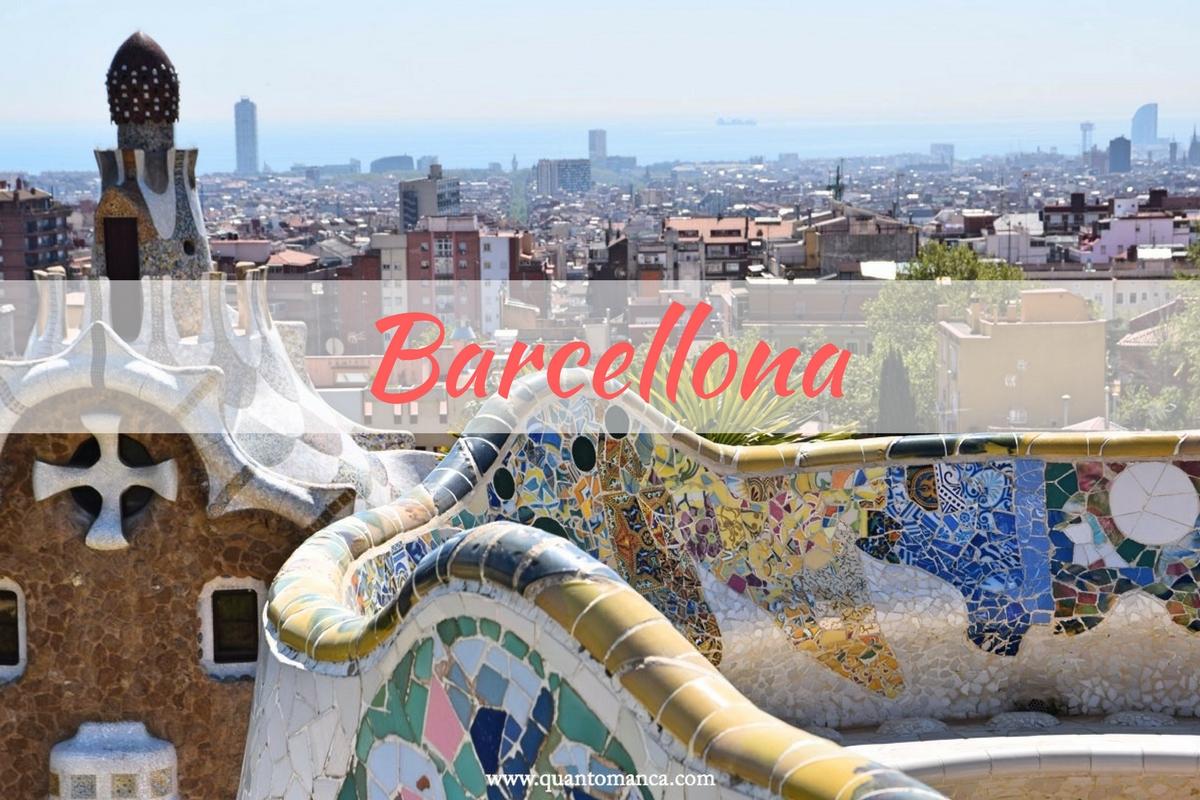 Cartina Barcellona Dettagliata.Barcellona Con Bambini Itinerario Di Tre Giorni Quantomanca Com