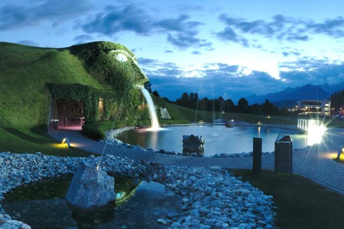 Mondo di Cristallo Swarovski vicino Innsbruck, la montagna delle meraviglie