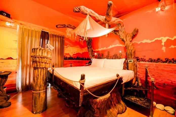 hotel con camere a tema