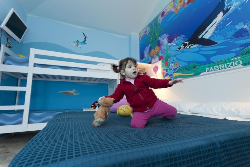 hotel per bambini con camere a tema