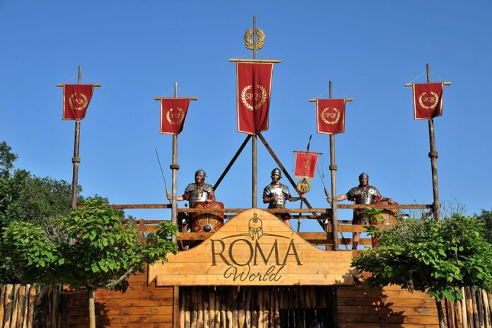 parco a tema roma